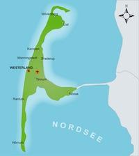 Nordfriesische Inseln Karte.Urlaub Auf Einer Nordsee Insel Sylt Amrum Fohr Uvm
